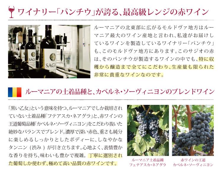 ワイナリーパンチウが誇る最高級レンジの赤ワイン